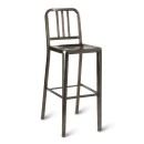 Toulon Bar Stool Gun Metal Grey