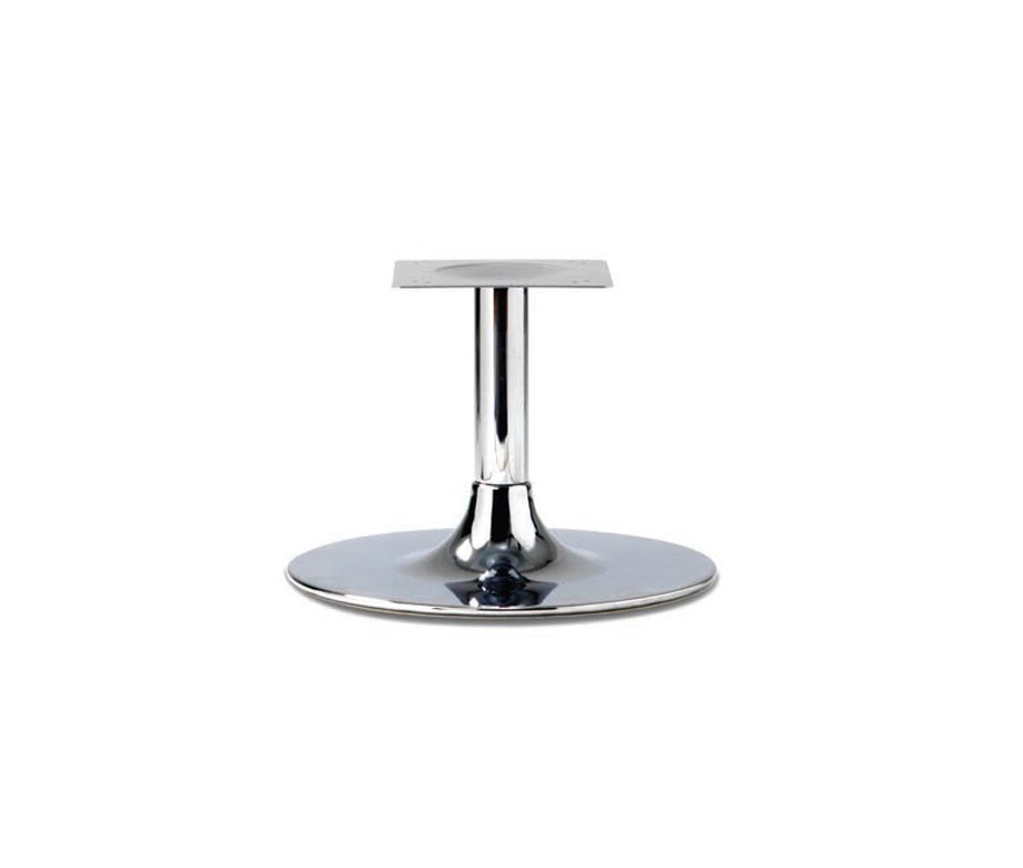 Trumpet Large Chrome Coffee Table