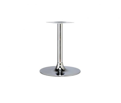 Trumpet Large Dining Table Chrome