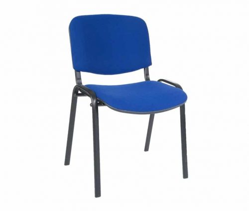 Upholstered Conference Chairs Blue