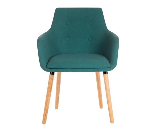 Valencia Upholstered Armchair Green