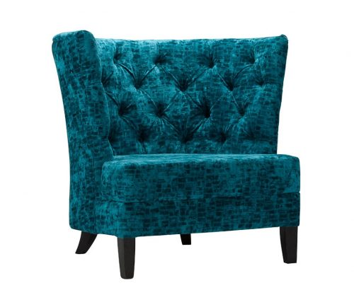 Vallone Deep Buttoned Hotel Lounge Chairs