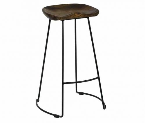 Veuve Industrial Metal High Stools