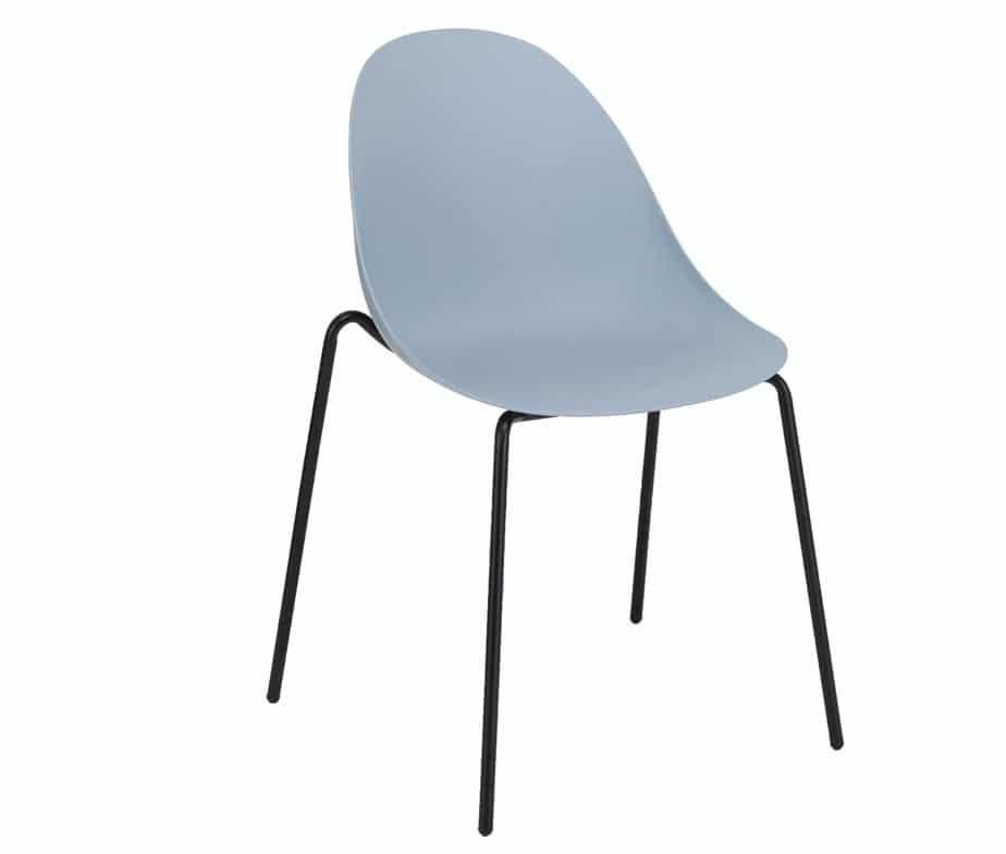 Vivid Side Chair Blue