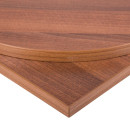 Walnut MFC Commercial Table Tops