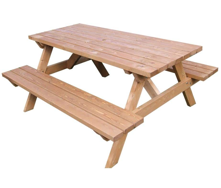 Wooden Pub Style Picnic Benches From Warner Contracts
