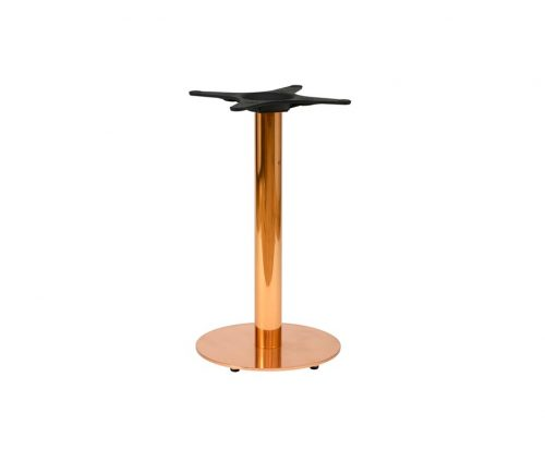 Zeta Round Copper Dining Tables