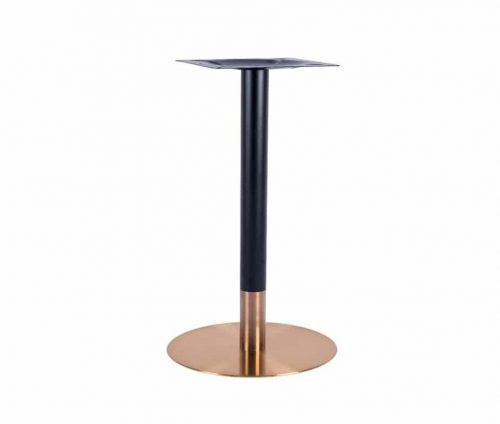 Zeus Small Dining Table Base Rose Gold